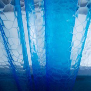 3D EVA cortina de ducha Bañera con imanes de Servicio Pesado