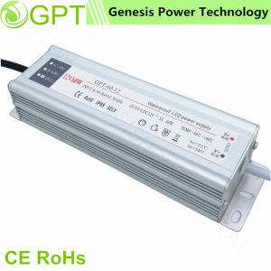 12V 24V 60W Fonte de alimentação Comutação impermeável LED com corpo de alumínio, IP67 Piscina AC DC fábrica de suprimento regulado de energia