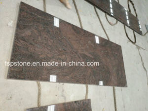 Lastra di pietra selezionata del granito marmo quarzo per il