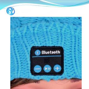 Regalo de navidad Kintted Wireless Bluetooth Beanie Hat Altavoces Auriculares