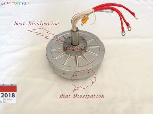 2018 neue Entwürfe Coreless Dauermagnetgenerator 48V1750rpm1950W