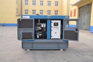 Generatore di potere silenzioso utilizzato servizio della Russia 50kw con il motore di Lovol