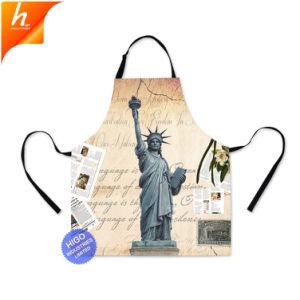 Горловину регулируемый защитный фартук на Статую Свободы печати фартук