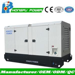 110kVA Puissance électrique silencieuse Deutz générateur diesel avec un grand réservoir de carburant