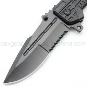 [سري] تكتيكيّ 4.8 بوصة يغلق سكينة تكتيكيّ مع [هيغقوليتي] 420 [ستينلسّ ستيل] نصل وألومنيوم مقبض لأنّ [إدك] خارجيّ بقاء قتال ونفس - دفاع