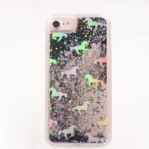 2019 Nouveau Liquide Liquide Glitter de cas de téléphone des sables mouvants cas
