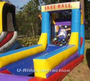 Jogo insufláveis skee bolas infláveis inflável esfera rolante para venda