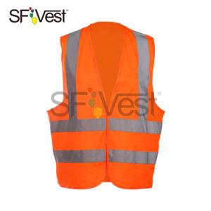 Vest van de Verkeersveiligheid van het Zicht van de Polyester van 100% het Weerspiegelende Hoge