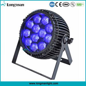 屋外12PCS 15W RGBW LEDの同価のズームレンズの段階ライト