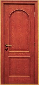 Цельная древесина вход для классических наружных ручек дверей салона (010)