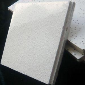 La preuve d'incendie haute densité fibre minérale acoustique plafond (divers modèles)