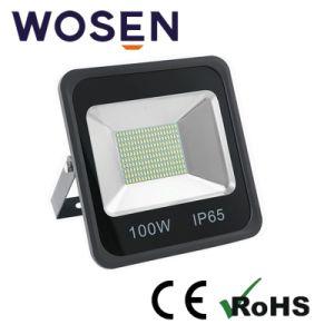 100W 24V SMD Refond Lm80 LEDの屋外の据え付け品のための正方形の屋外の洪水ライト