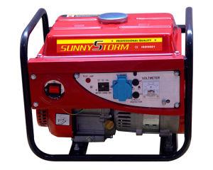 Портативный 1 квт бензиновый генератор с бензиновым двигателем