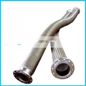 連結の組みひもが付いているステンレス鋼の排水の波形の管