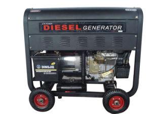휴대용 디젤 엔진 발전기 (공냉식 열리는 유형이)