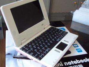 7 Laptop van Netbook PC/2GB WiFi Windows CE van de duim Mini