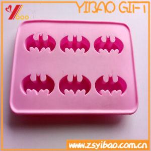 Mayorista ecológica silicona Ice Cube Tray/molde para hornear galletas de chocolate Pastel de gelatina molde bandeja para hornear.