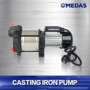 Moulage de la pompe à eau de fer robuste avec gaine en acier inoxydable pour l'irrigation