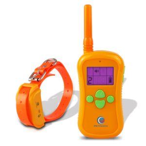 Petinccn P680S 660yds Remote collares de adiestramiento de perros sumergible y recargable con cuatro funciones de localización de rango estático de vibración de tono Collar de formador de choque