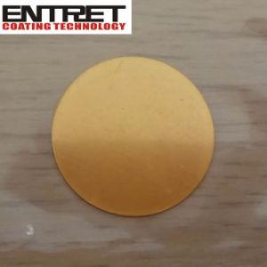 Alvo de pulverizaça ̃ o ouro em 99,99 % de pureza, Au Target