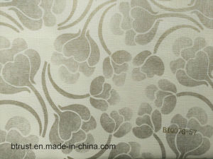 Un design moderne de papier peint en vinyle PVC