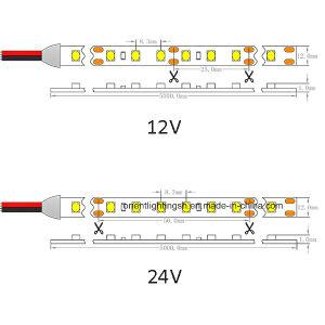 Indicatore luminoso di striscia dell'UL CRI>90 Epistar 2835 LED del Ce