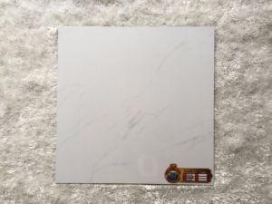 600*600mm Opgepoetste Verglaasde Volakas Marmeren Witte Tegel B6054