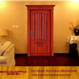 Porte de luxe en bois solide de modèle pour la chambre à coucher ...