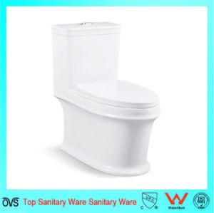 Foshan Sanitária 4D WC cerâmica de uma peça de Lavagem