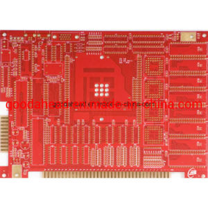 Fabrico personalizado de placa de circuito impresso RoHS 6L PCB Rígida