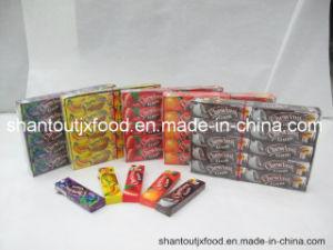 Kauwgom van 5 Aroma's van het Fruit van Minion de Spoed met Tatoegering