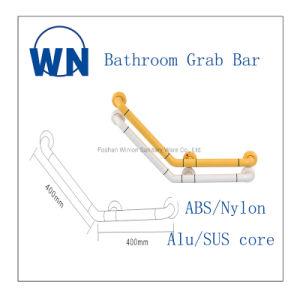 Casa de banho Ângulo 135 304 de aço inoxidável ABS Grab Bar Wn-L02