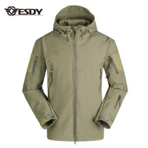 f7864abc32 Militar exterior chaqueta Softshell impermeable Windproof táctico del  ejército de la ropa de deportes