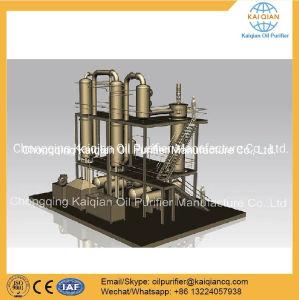 Resíduos de óleo do motor de reciclagem de destilação a máquina