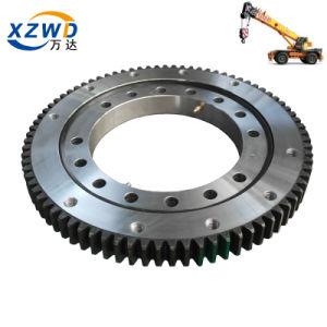 Novo produto personalizado da motoniveladora giratória da mesa giratória Rolamento do Anel para a máquina