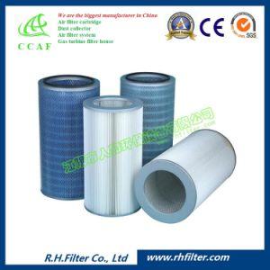 Cylindrique de la cartouche de filtre à air de collecteur de poussière