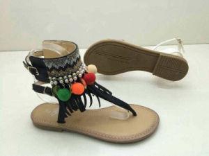 Bohemian Style cordon de boucle de la Femme Sandales (WG27)