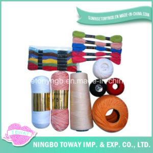 Alta Qualidade de Algodão Moda Crochet Poliéster Roupa Tópico