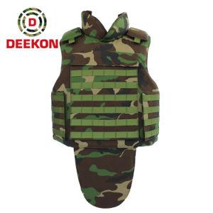Una buena calidad estándar NIJ militar de camuflaje de armadura de cuerpo de ejército chaleco antibalas