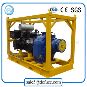 Self-Priming 디젤 엔진 수평한 원심 폐수 펌프