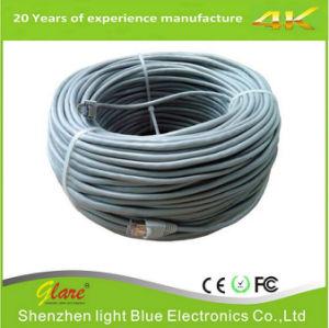 Color gris de 305m de cable de red