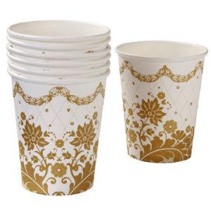 使い捨て可能な印刷されたペーパーティーカップ