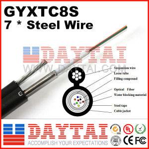 Piscina Fig8 fio de aço de fibra óptica de modo único Cabo Gyxtc vários modos8s