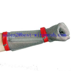 Kettenhemd-Edelstahl-Schutzhandschuh-Metzger-Sicherheits-Handschuh/geschnittener beständiger Handschuh
