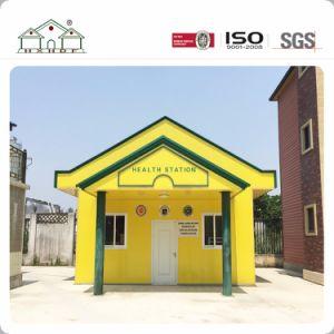 La conception populaire Structure légère en acier préfabriqué Mobile chambre