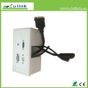L'anglais de style britannique HDMI prise VGA USB façade de l'interrupteur d'impression