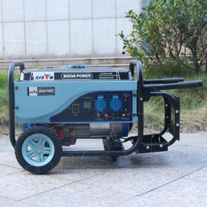 비손 ((M) 중국) BS2500p 새로운 대중적인 디자인 2.5kw 2500W AC 단일 위상 전기 시작 바퀴를 가진 휴대용 발전기 가솔린
