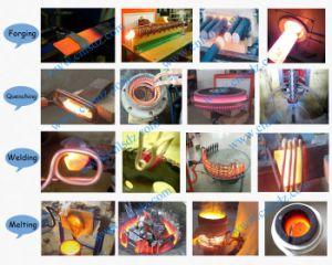 鍛造材を堅くする暖房のためのIGBTの誘導加熱機械
