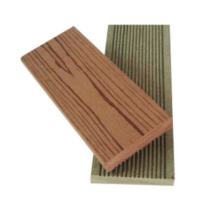 Decking de WPC: Decking composto: Decking plástico de madeira (90*19)