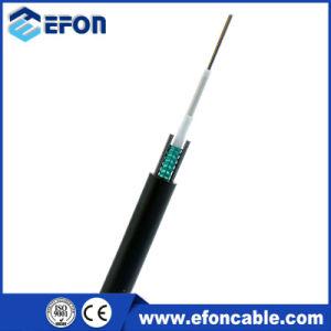 Cavo ottico esterno corazzato della fibra di singolo modo del nastro d'acciaio di Unitube
